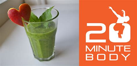 Green Detox Shake Nutri V by Brett Hoebel Breakfast Recipes