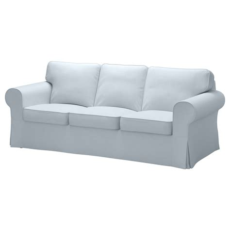 ikea blue sofa ektorp three seat sofa nordvalla light blue ikea