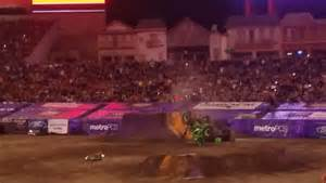 Truck Backflip Wheels Truck Grave Digger Crashes After Failed