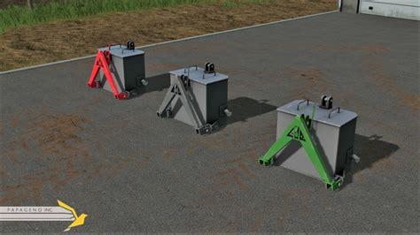 home made ls weight papageno inc v 1 0 ls17 farming simulator 2017 17 fs mod