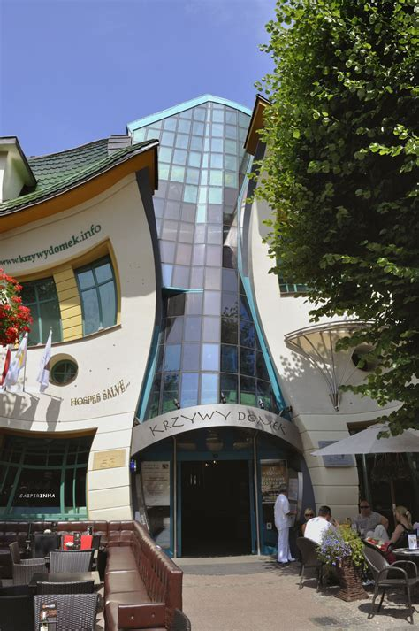 Krzywy Domek ? Crooked House in Sopot, Poland