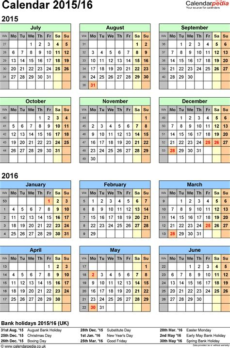 new year 2015 government schedule printable calendar 2015 2016 2017 calendar template 2016