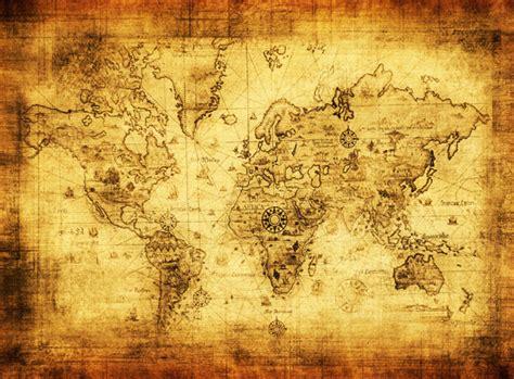 wohnzimmerwand kunst kaufen gro 223 handel alte karte welt aus china alte