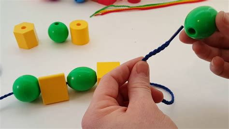 thread a bead jumbo primary lacing for toddlers babies