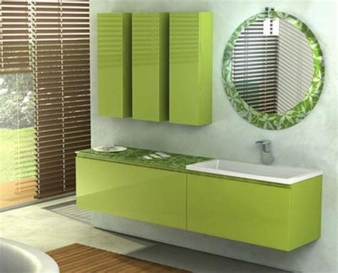 Lime Green Bathroom Ideas Green Bathroom Design
