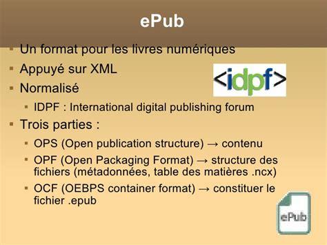 ebook xml format le livre num 233 rique 4 ergonomie et fabrication