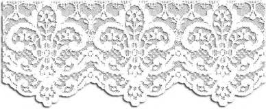 White Lace Border Transparent Sketch Coloring Page sketch template
