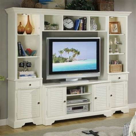 essex point wall entertainment center modern display