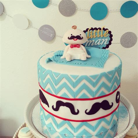 Baby Shower Mustache Cake by Baby Shower Cakes Mustache Baby Shower Cake Ideas