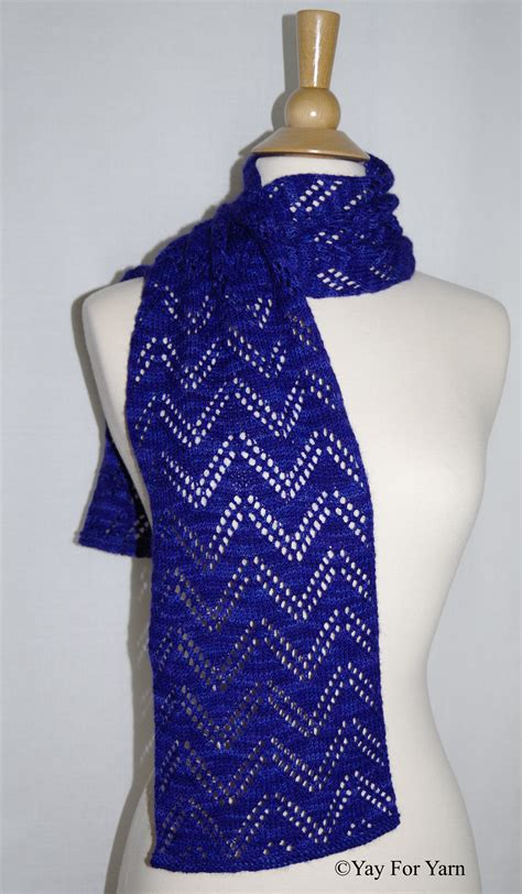 chevron lace scarf knitting pattern chevron lace scarf new knitting pattern by yay
