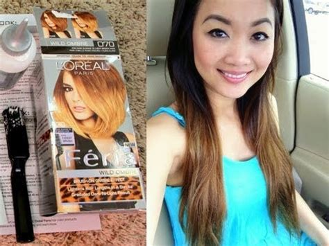 preference wild ombre on short hair l oreal paris a review of four new hair products