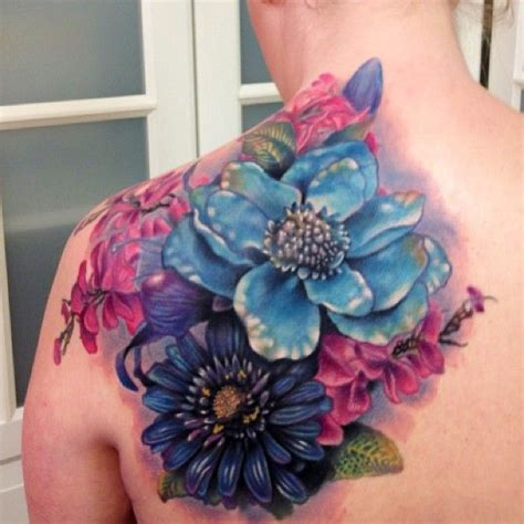 bright flower tattoo designs 25 best ideas about bright colorful tattoos on