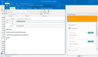 Outlook Template by New Email Templates And Email Tracking For Outlook Users