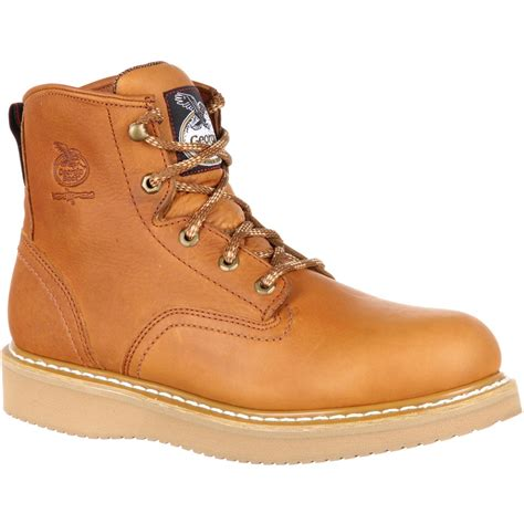work boots for steel toe boot s 6 quot steel toe work boots style g6342