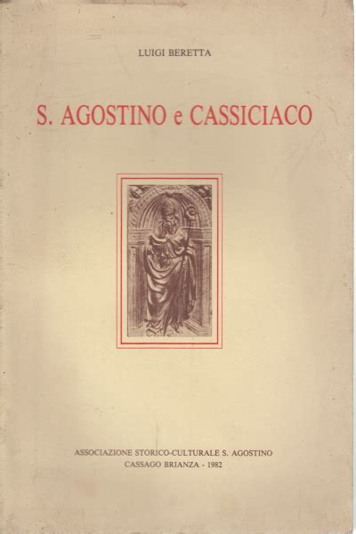 libreria s agostino s agostino e cassiciaco luigi beretta filosofia