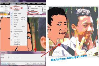 gambar tutorial upi tutorial membuat gambar vektor wajah menjadi kartun