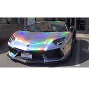 Holographic Lamborghini Aventador  YouTube