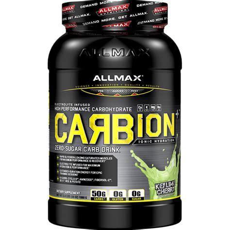 Suplemen Allmax carbion supplement 2 4lbs allmax nutrition