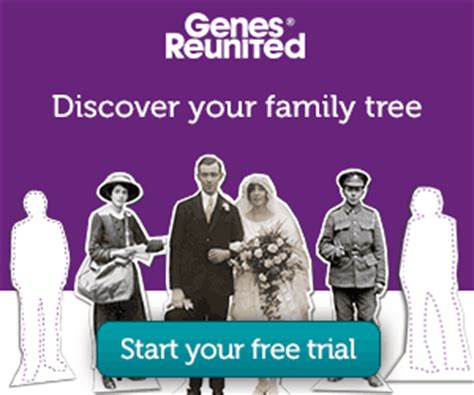 Genes Reunited Records Family History