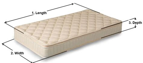 How Wide Is A Mattress by Size And Measure Guide Oscarj