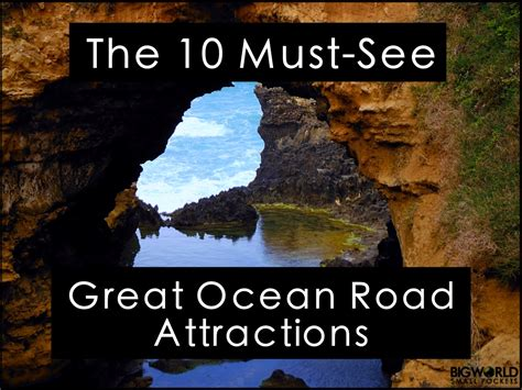 10 Great You To See by The 10 Must See Great Road Attractions Big World