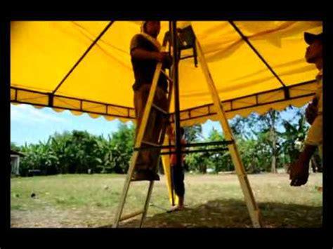 Tenda Kerucut 5x5 Tendasurabaya Kelapapariwara Instalasi Tenda Kerucut