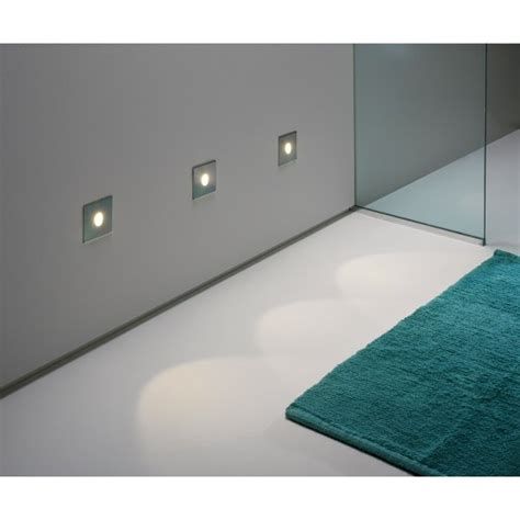 bathroom lighting led recessed square silver recessed wall light ip65 for bathrooms low