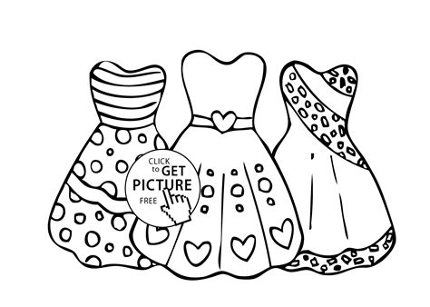 christmas dresses coloring pages dress coloring pages for girls free
