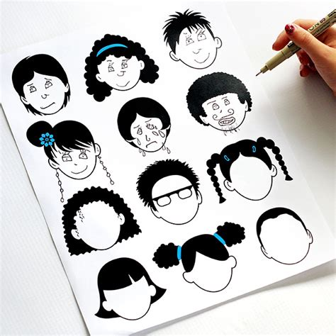 blank faces coloring page 20 dabbles babbles blank faces coloring page 2 0 dabbles babbles