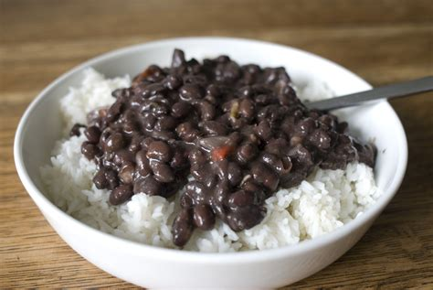 chapman crew eat rice and beans