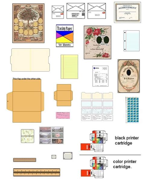 pattern for barbie doll house suvasi more diy doll house furniture and accessories from