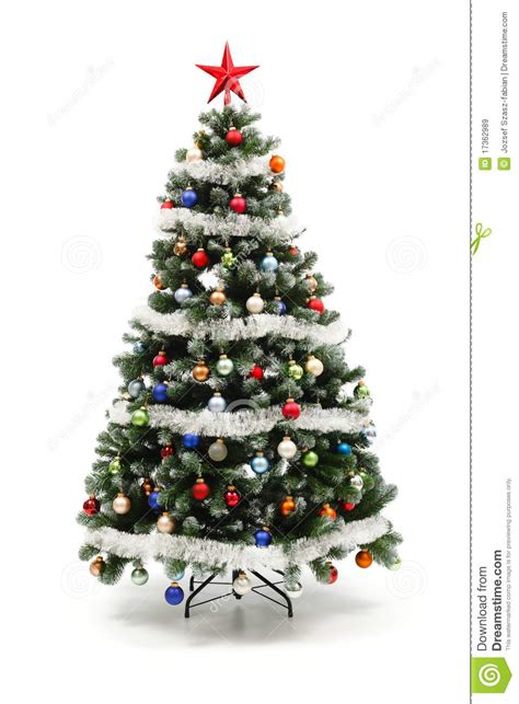 christmas tree decorated whith words colorful decorated artificial tree stock image image 17362989