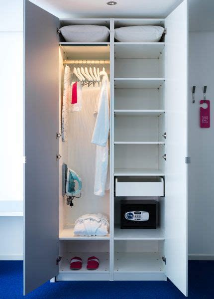 clothes rail pax wardrobe and led on pinterest