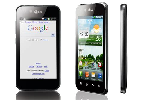 is lg android test du lg optimus black p970 sous android frandroid