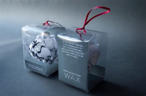 creative agency turns garbage ideas into clever christmas