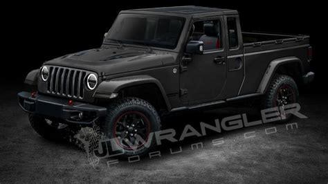 jeep wrangler pickup price release date truck