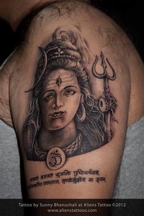 body tattoo of lord shiva lord shiva tattoo inked by sunny at aliens tattoo mumbai