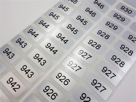 Etiketten Drucken Fortlaufender Nummerierung by Seriennummer Etiketten Mit Fortlaufender Nummerierung