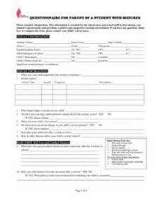 seizure plan template fillable school epilepsy plan fill