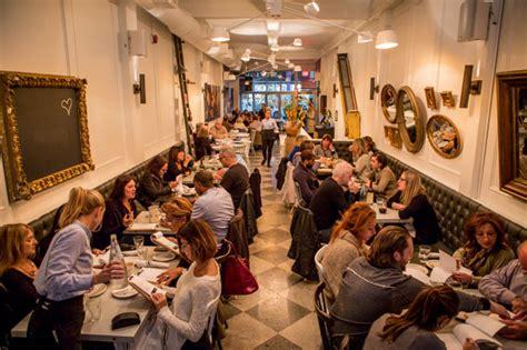 Dining Room Banquettes by Nodo Restaurant Blogto Toronto