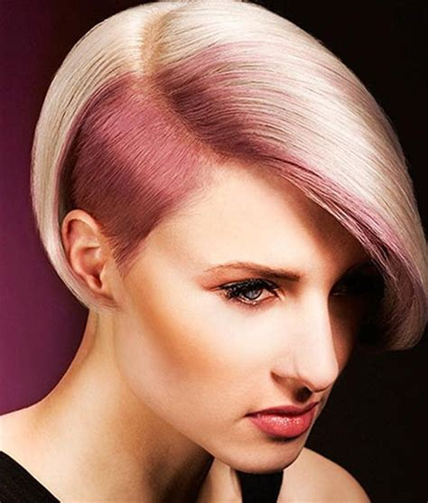 short hairstyles with colours 20 cute colors for short hair hairstyles haircuts 2016