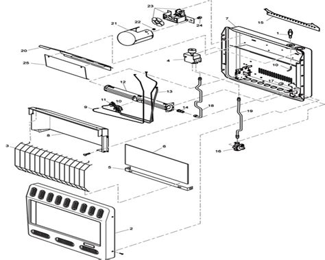 desa gas fireplace parts diagram ventless gas fireplace