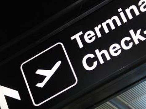 10 Year Background Check Airport - terminal check sign photo free