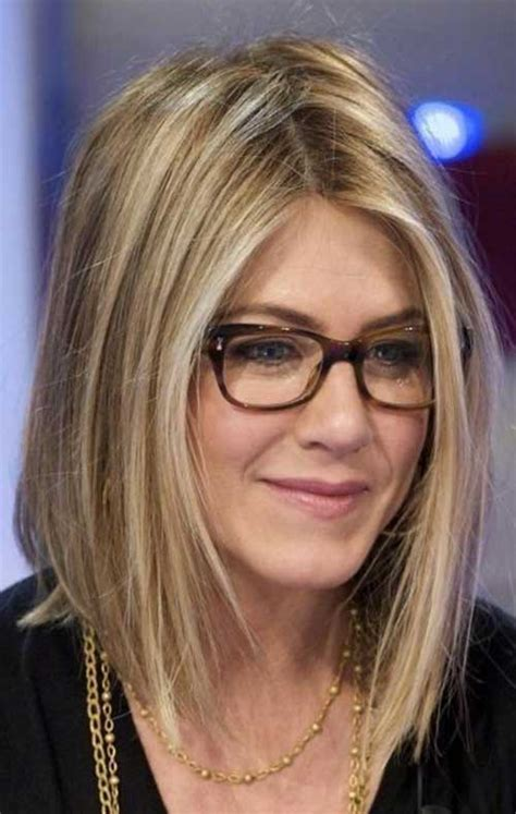 hairstyles with glasses 2015 jennifer anniston long bob hairstyles bob hairstyles