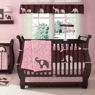 Pink Jungle Crib Bedding by Baby Nursery Jungle Pink Brown Safari Spotted