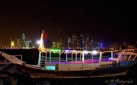 boat ride qatar one night in doha the travelling chilli
