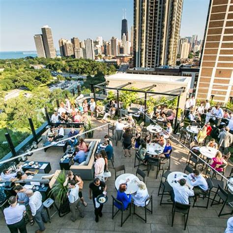 best bar in chicago best rooftop bars in chicago travel leisure