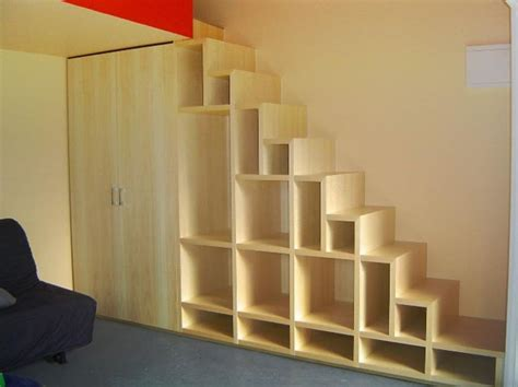stair bookcase decorating orginization ideas to
