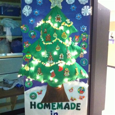 diy christmas tree classroom door decorations 35 best preschool ideas door decoration images on decor winter and