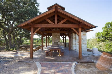 Backyard Pavillion by Pavilion Outdoor Living Timber Frames Project Photo Gallery